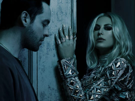 The New York State band Phantogram performs Oct. 20