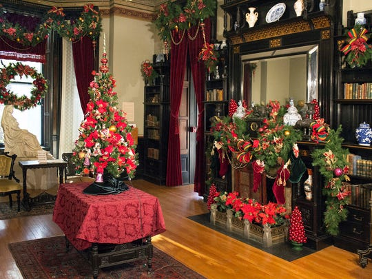 Hudson River Museum's historic home Glenview will be decked out in its holiday finest. Tour the property, Nov. 24-31.