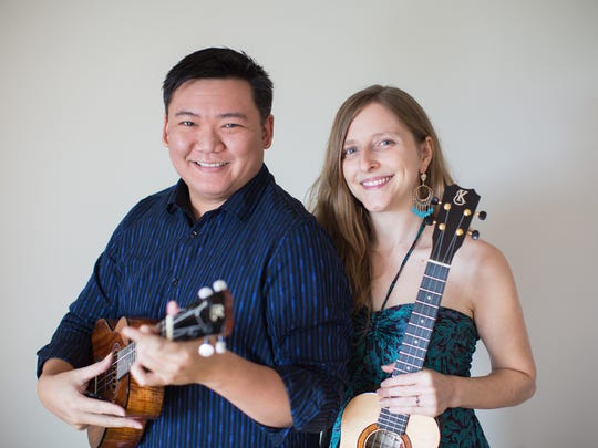 Craig Chee and Sarah Maisel will teach workshops at the Las Cruces UkeFest in May.