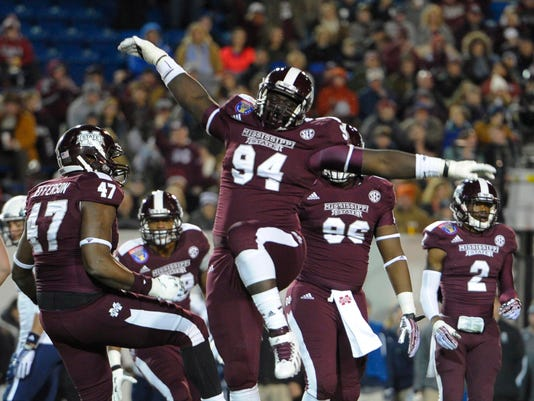 NCAA Football: Liberty Bowl-Rice vs Mississippi State