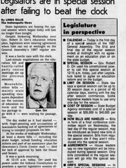 The Indianapolis News front page on April 30, 1987.