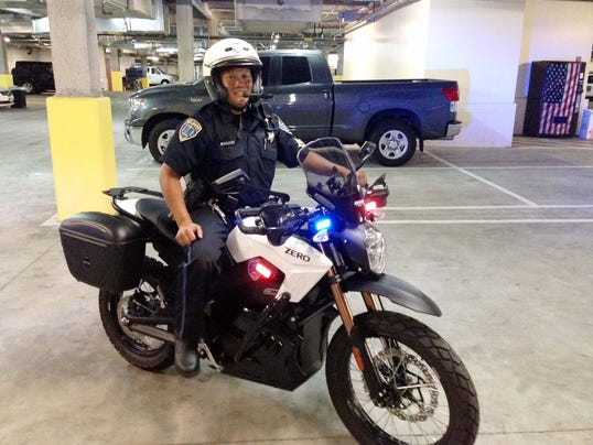 More Police Agencies Trying Out Electric Motorcycles