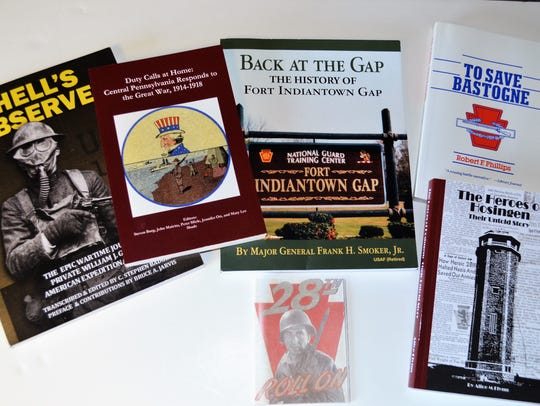 A few of the titles available at the Pennsylvania National