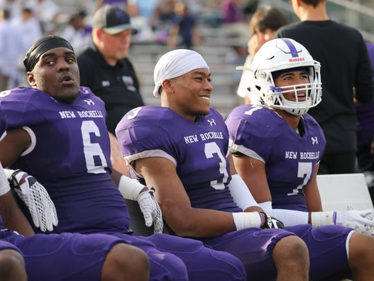 New Rochelle's Jared Baron, Myles Taylor and Lloyd