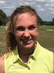 Wylie girls golfer Maddi Olson