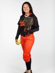 2017 Spring Player of the Year finalist April Alvarado, Lely softball