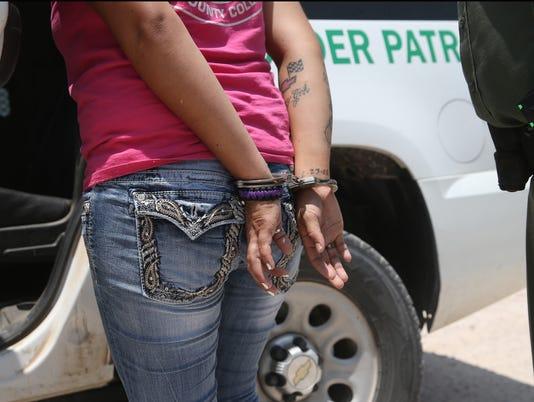 U.S. Agents Take Undocumented Immigrants Into Custody Near Tex-Mex Border