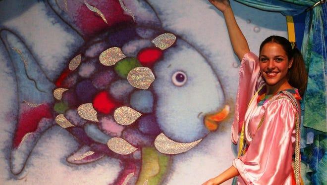 """""""The Rainbow Fish"""" swims into the Stockton Campus Center Theatre on Saturday, Feb. 11."""