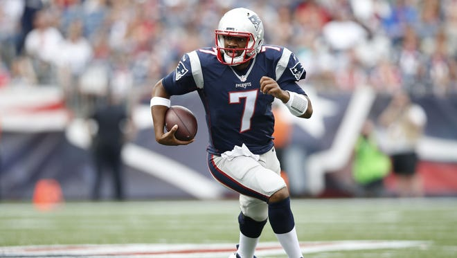 1. New England Patriots (2-0, last week: 1): Okay, now they have to win with Jacoby Brissett. Against the 2-0 Texans. You know they're going to.