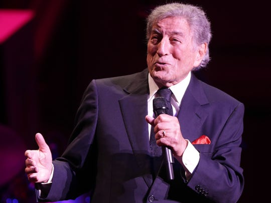 Tony Bennett performs in 2014. He was joined on by his daughter, vocalist Antonia Bennett, at the Palladium in Carmel.