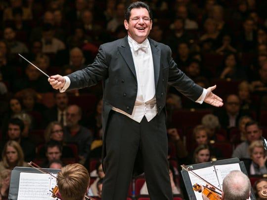 David Bernard conducts the Greater Newburgh Symphony