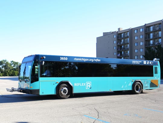 What is refleX: A limited stop, express bus service
