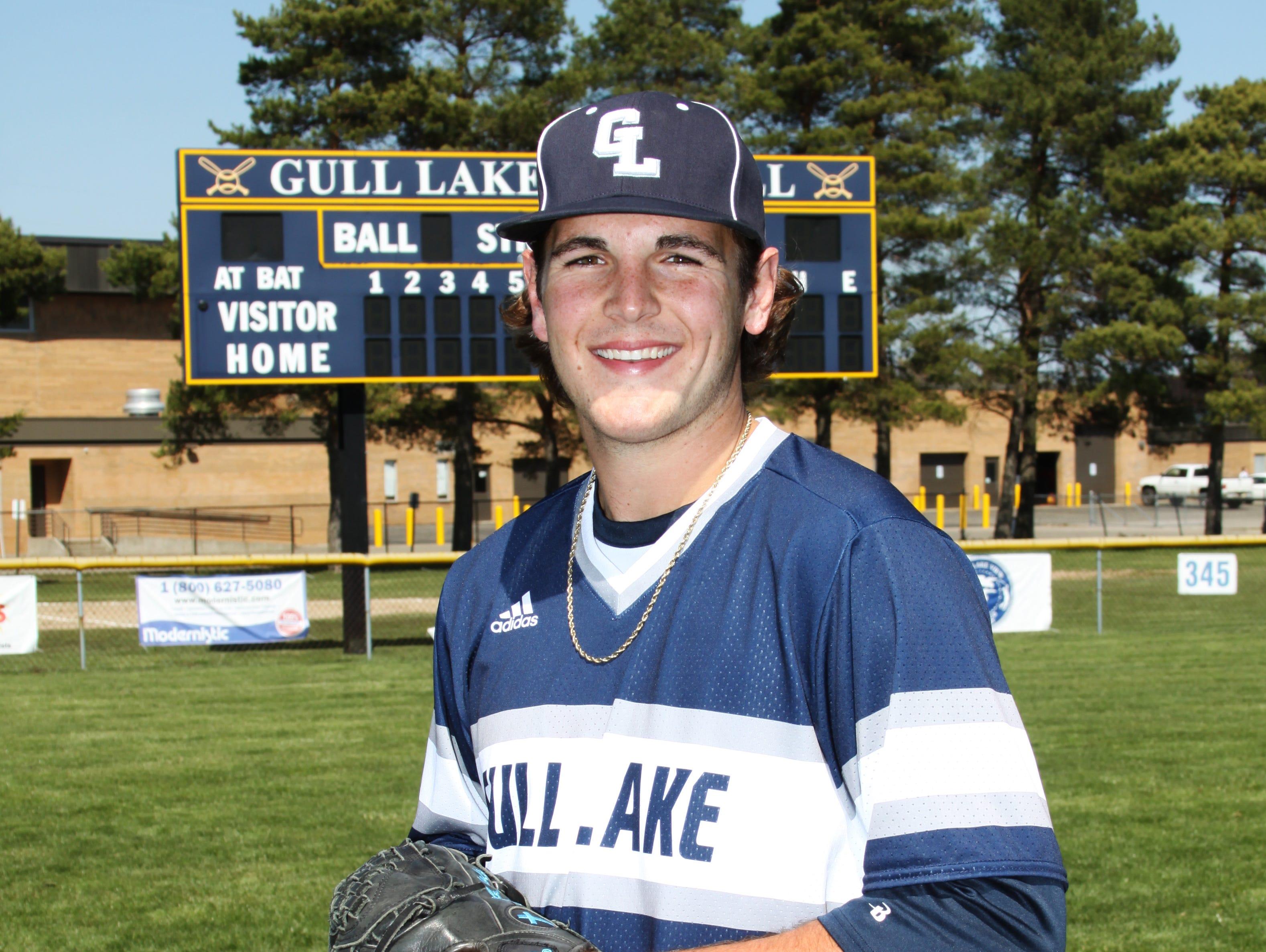 Gull Lake's Caleb Scoles will be playing at University of Toledo next year.