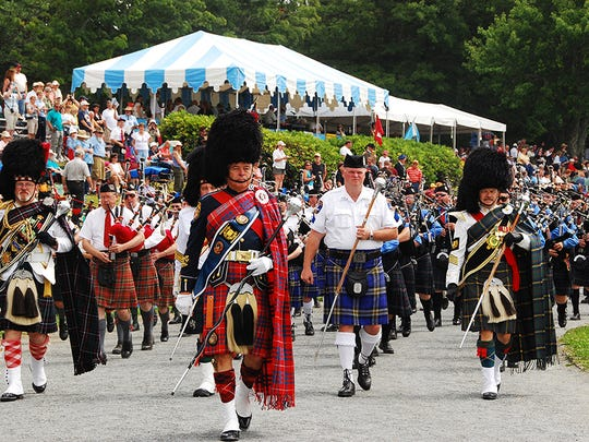 The 64th Annual Highland Games take place July 11-14 at MacRae Meadows at Grandfather Mountain.
