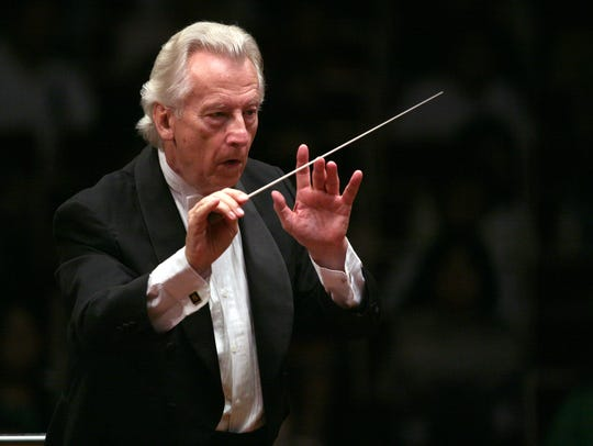 Guest conductor Günther Herbig.