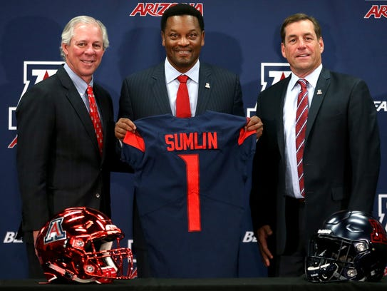 New University of Arizona Wildcats head football coach