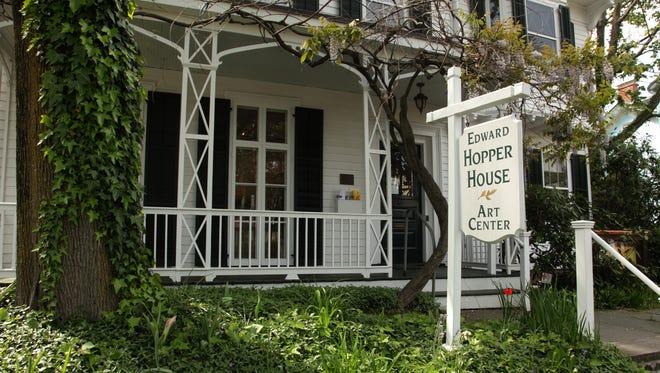 The Hopper House in Nyack