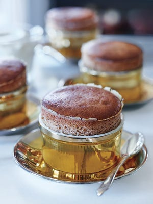 Soufflés are often made with dark chocolate — but an excellent-quality milk chocolate gives the dessert a creaminess and flavor that are almost reminiscent of hot chocolate.