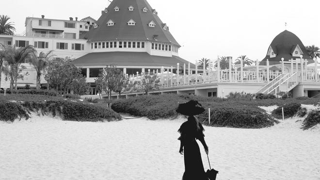 Kate Morgan, the jilted lover, is sometimes spotted by guests on the beach or in the hotel hallways.