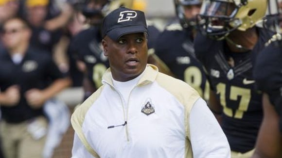 Darrell Hazell has four wins in his first two seasons at Purdue