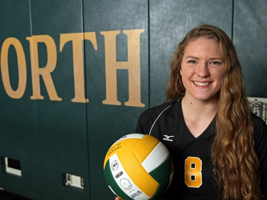 North Hunterdon's Katie Primatic is the Courier News Girls Volleyball Player of the Year.