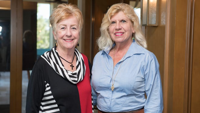 Ann Young and Doris Clements, founders of Alzheimer's Community Care's Memory Circle