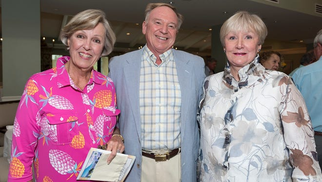 Harriet Stone, Kevin Mitchell and Sue Teach  enjoyed the Swinging Fore the ARC Golf Tournament and Cocktail Party..