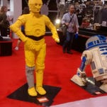 """Six-inch action figures at the """"Star Wars"""" Celebration convention in Anaheim, California"""