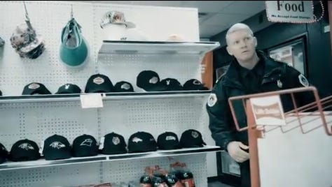 In this image from video, Des Moines Police Chief Dana Wingert appears in a music video for Will Keeps.