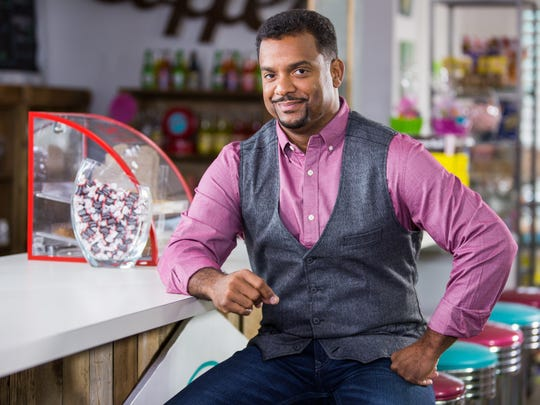 Host Alfonso Ribeiro hosts Food Network's Unwrapped 2.0.