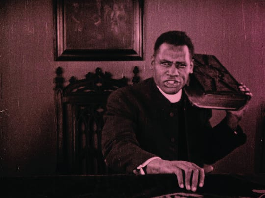"""Paul Robeson in """"Body and Soul."""""""