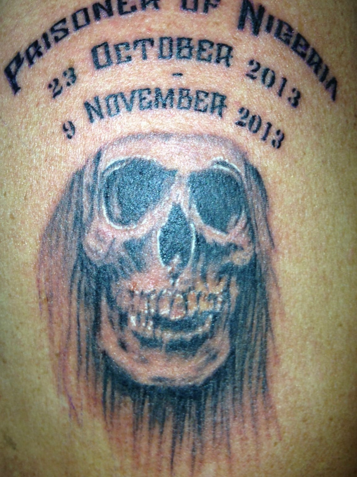 Wren Thomas' tattoo symbolizes his survival after being