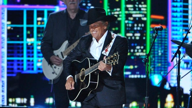 George Strait will play four shows at the new Las Vegas Arena starting in April.