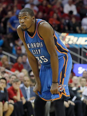 Kevin Durant plays in his hometown of Washington on Tuesday night.