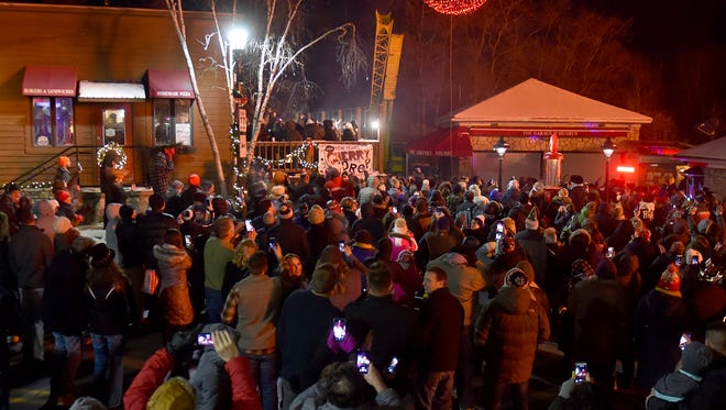 The 2018 New Year's Eve Cherry Drop will again be held this year on Dec. 31 in Sister Bay.