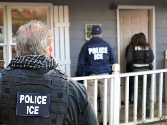 Immigration arrests increase