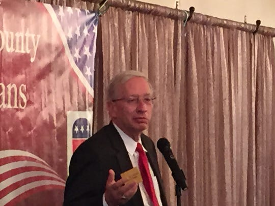 Pat Fischer, a Republican running for Ohio Supreme Court Justice