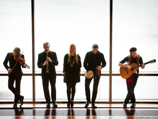 The world music of the Guy Mendilow Ensemble will be