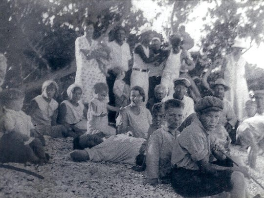 Cayo Costa Christmas in 1929