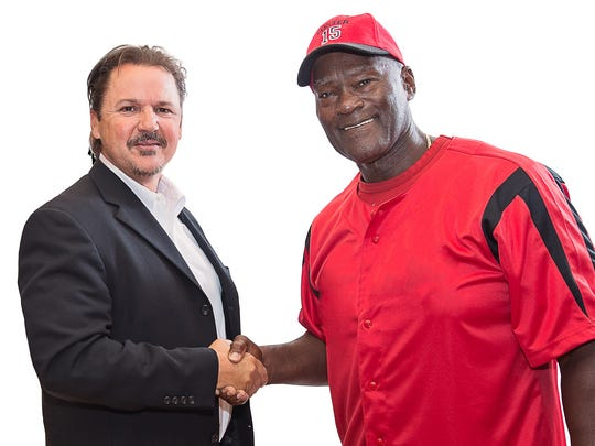 Jeff Black, (left) chief executive of MVD Communications, tapped George Foster to serve as spokesman for the company to help grow the firm's profile.