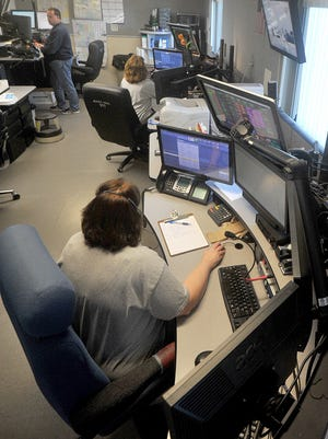 The Richland County 911 call center.