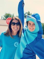 Coastal Community School, a hybrid home school, just added their mascot, a dolphin.