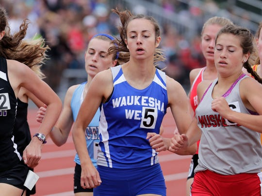 Waukesha West senior Becca Langer was a standout for the school's cross country and track teams.