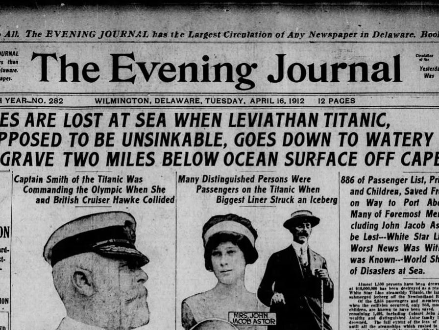 Peek into the past!  Insiders can now view The News Journal's last two years of archives for FREE!