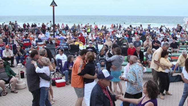 Plans for a spring break Christian music festival on the beach have been cancelled.