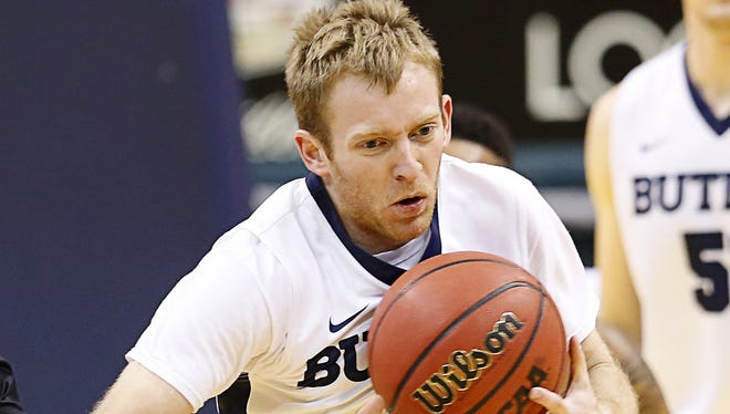 Butler Bulldogs point guard Tyler Lewis averaged 5.9 points and 2.8 assists per game last season.