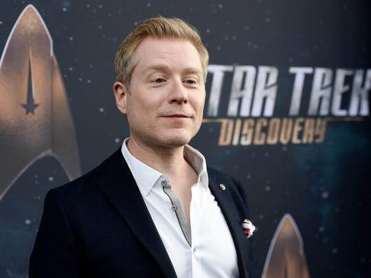 Anthony Rapp, actor in 'Star Trek: Discovery,' on September 19, 2017 in Los Angeles.