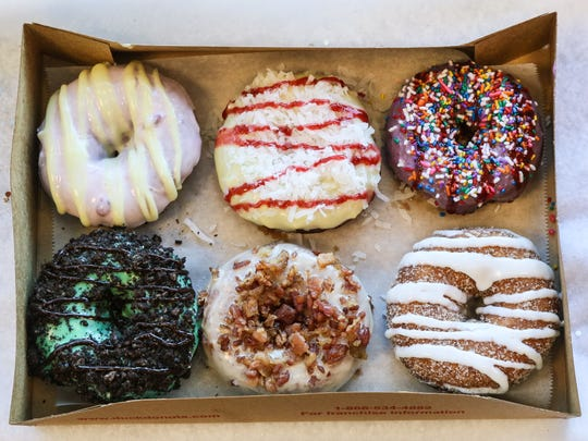 Duck Donuts in Green Brook specializes in the build-your-own doughnut experience.