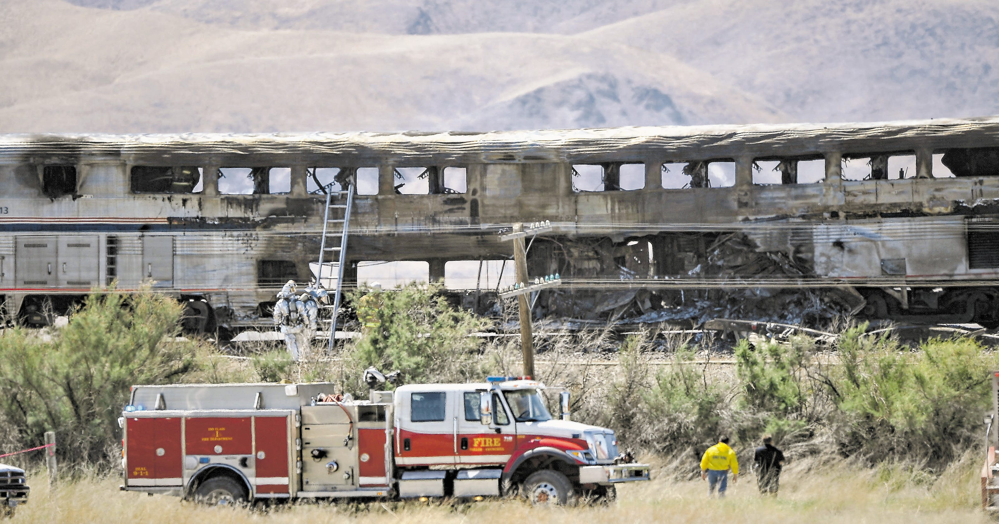 $4 5M award to Amtrak upheld in deadly Nevada truck crash
