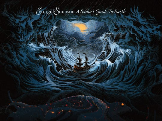 """Sturgill Simpson, """"A Sailor's Guide to Earth"""""""